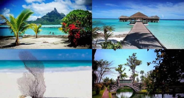 """Top 5 destinos especial """"Luna de miel"""""""